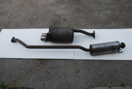Honda Civic Type R exhaust system
